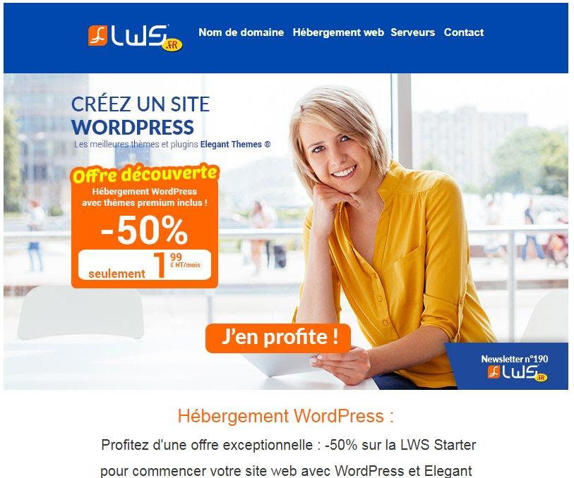 LWSCréer un site WordPress premium à petit
