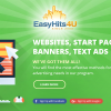 EasyHits4U promotes your ads to our members
